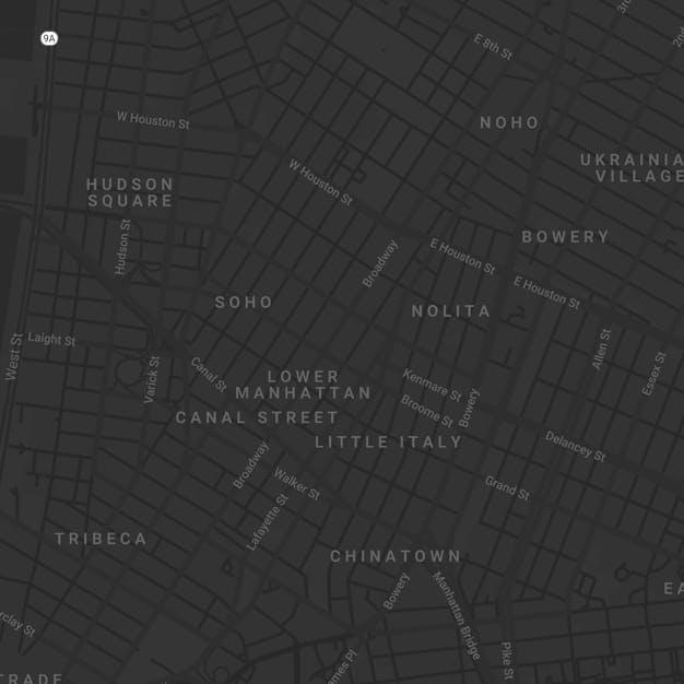 map of mono